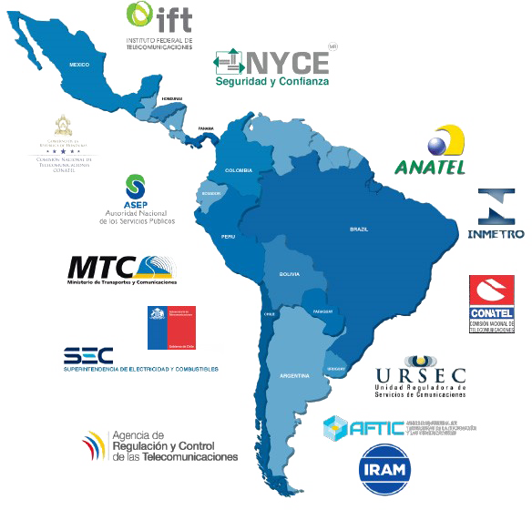 Latin American Regulatory Compliance Certification